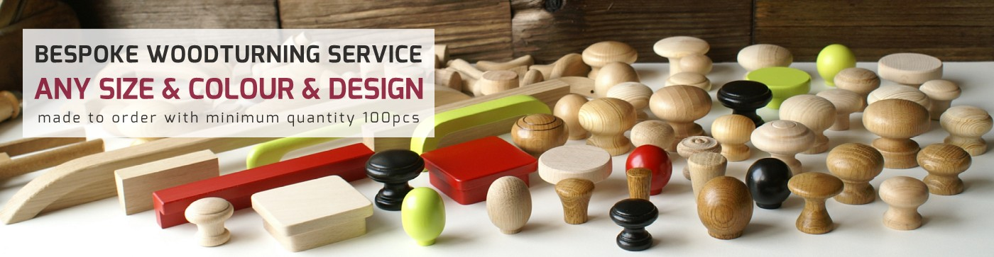 bespoke solid wood knobs and handles