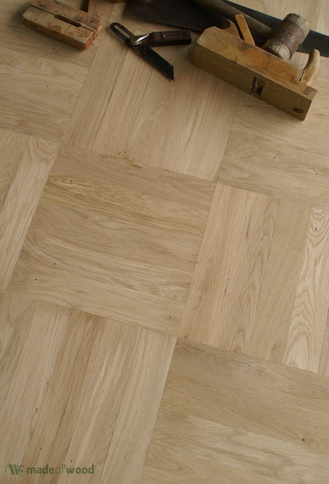 Oak wood 12 parquet classique prime grade square - Parquet classique ...