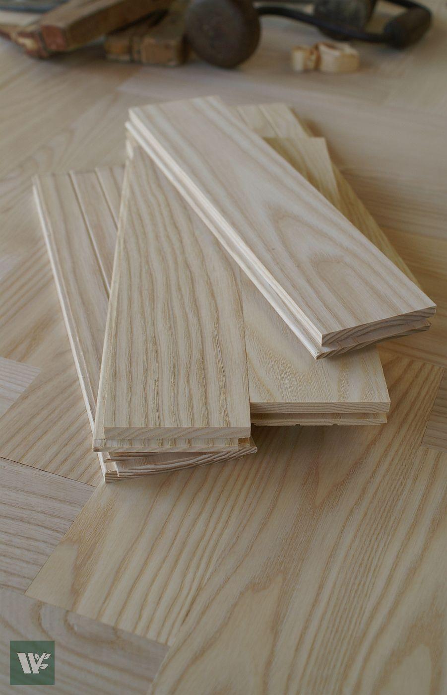 Finest Grade 12 Quot Ash Wood Parquet Flooring 16mm Low