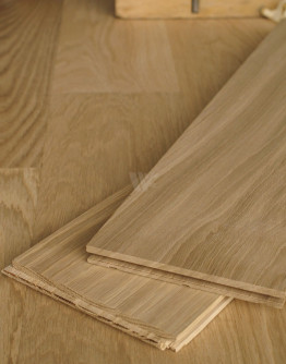 15cm Solid Oak Floorboards D45P