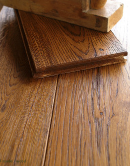 15cm Solid Dark Oak Floor DD12