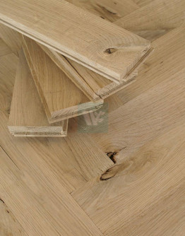 "10"" Antique Oak Herringbone H25A"
