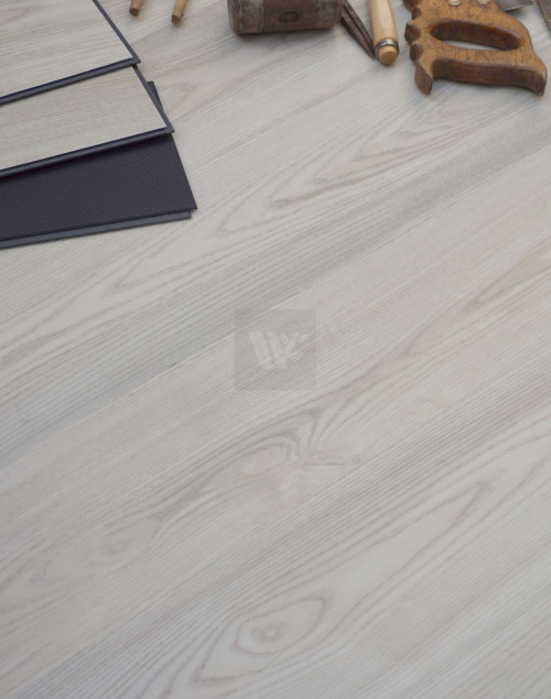 "WPC Ash White 7"" Flooring LP41"